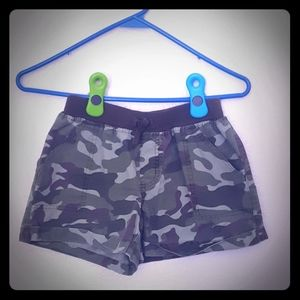 Camo Shorts, Girls XL 14